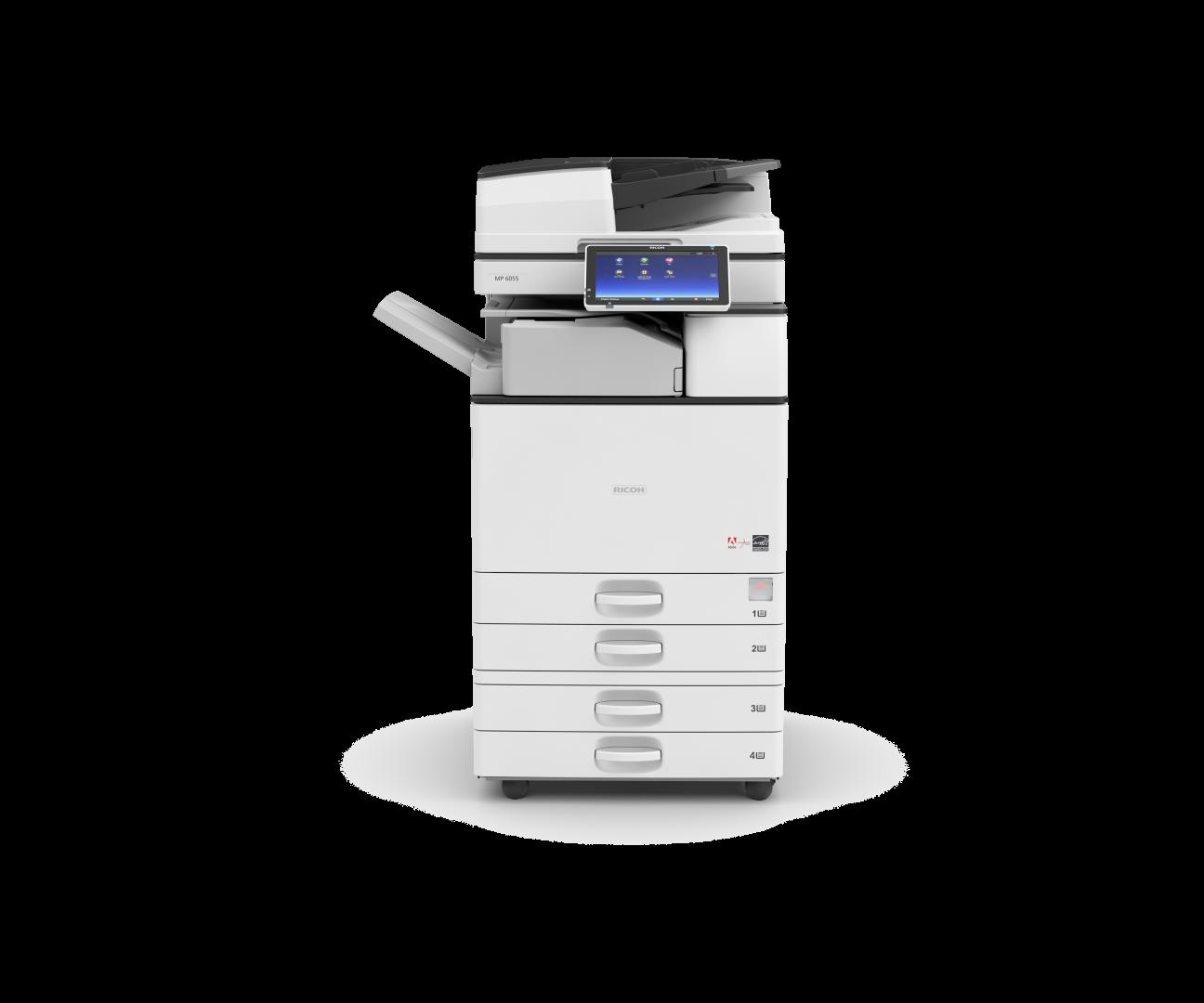 Ricoh MP 3055SP Siyah-Beyaz A3 Fotokopi Makinası