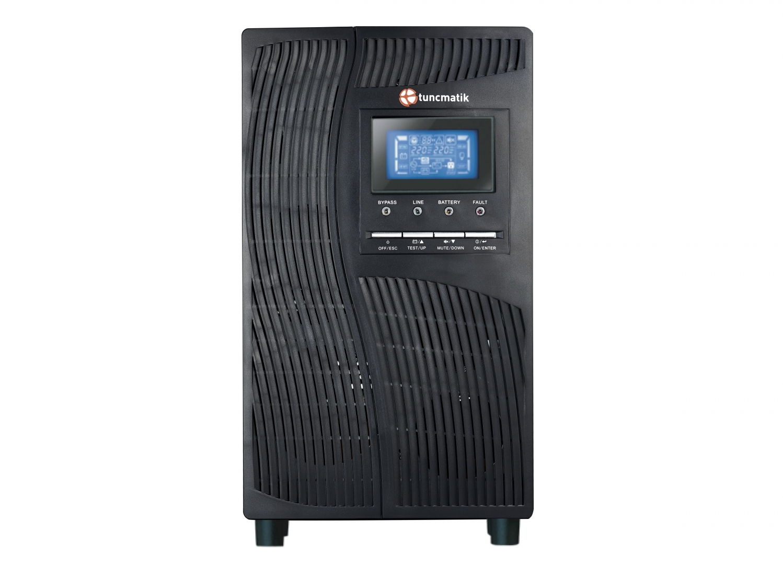 Tunçmatik Newtech Pro X9 10 kVA 1f/1f Kesintisiz Güç Kaynağı (UPS)