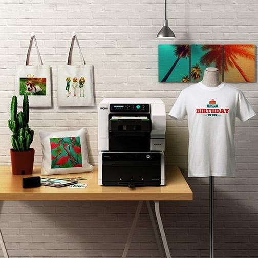 Ricoh Ri 100 T-Shirt Baskı Makinası (Giysi Yazıcı)